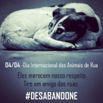 04/04 Dia Internacional dos Animais de Rua