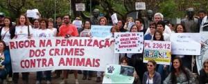 II Manifestação Crueldade Nunca Mais, Belo Horizonte, MG.