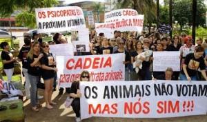 I Manifestação Crueldade Nunca Mais, Goiânia, GO.