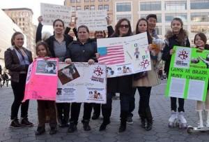 I Manifestação Crueldade Nunca Mais, Nova York, EUA