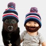 Mãe faz ensaio fotográfico com filho e cão