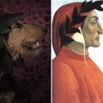 Escritores e seus sócias caninos