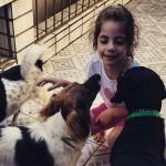 8ª foto #10DogDays – Crianças e cachorros