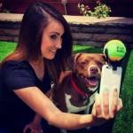 Dispositivo permite selfie com cães