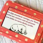 Site cria carteirinha de emergência para cães e gatos
