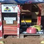 Homem constrói restaurante para cachorros
