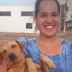 Cachorro espera por quase 7 horas dona que fazia Enem em Cacoal  (RO)