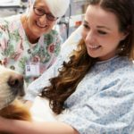 Pacientes internados em Guarujá poderão receber visita de animais